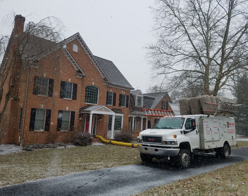 Air duct cleaning in Elizabethtown, PA