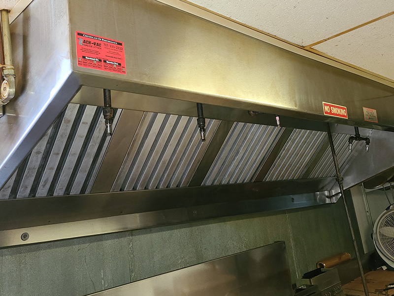 Kitchen exhaust cleaning in Harrisburg, PA